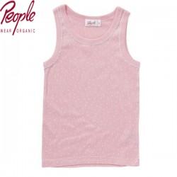 People Wear Organic - Bio Kinder Unterhemd mit Punkten