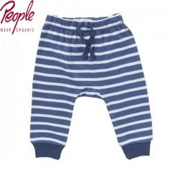 People Wear Organic - Bio Baby Jersey Hose mit Streifen