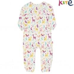 kite kids - Bio Baby Strampler mit Waldtieren-Motiv