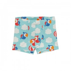 "Maxomorra - Bio Kinder Hipshorts ""Parrot Safari"" mit Papagaien-Allover"