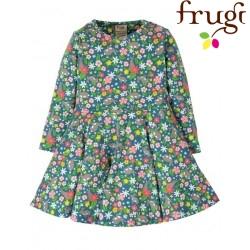 """frugi - Bio Baby Jersey Kleid """"Little Sofia"""" mit Hasen-Allover"""