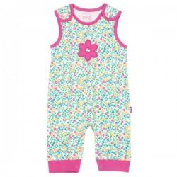 kite kids - Bio Baby Strampler mit Wildblumen-Motiv