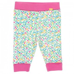 kite kids - Bio Baby Jerseyhose mit Wildblumen-Allover