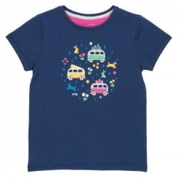 kite kids - Bio Kinder T-Shirt mit Camper-Druck