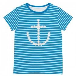 kite kids - Bio Kinder T-Shirt mit Anker-Druck
