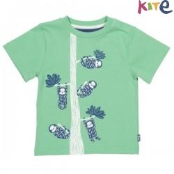 kite kids - Bio Kinder T-Shirt mit Faultier-Druck