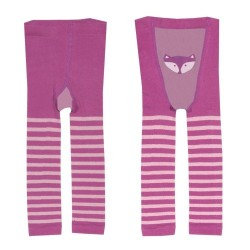kite kids - Bio Baby Leggings mit Fuchs-Motiv