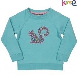kite kids - Bio Kinder Sweatshirt mit Eichhörnchen-Motiv