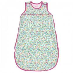 kite kids - Bio Baby Schlafsack mit Wildblumen-Motiv