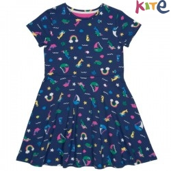 kite kids - Bio Kinder Kleid mit Meerjungfrauen-Allover