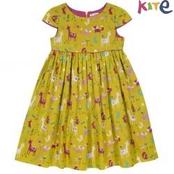 kite kids - Bio Kinder Kleid mit Waldtieren-Druck