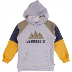 Fred`s World by Green Cotton - Bio Kinder Sweatshirt mit Mountain-Applikation