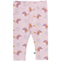 Fred`s World by Green Cotton - Bio Baby Leggings mit Vogel-Druck