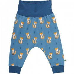 Fred`s World by Green Cotton - Bio Baby Sweathose mit Fuchs-Allover