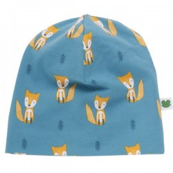 Fred`s World by Green Cotton - Bio Baby Beanie mit Fuchs-Allover