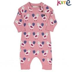 kite kids - Bio Baby Strick Strampler mit Vogel-Motiv
