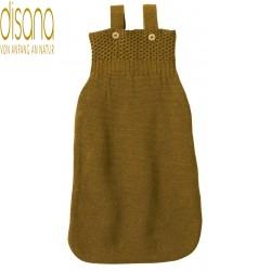 disana - Bio Baby Strick Schlafsack, Wolle, gold