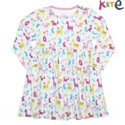 kite kids - Bio Baby Kleid mit Waldtieren-Motiv
