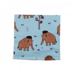 Walkiddy - Bio Kinder Schlauchschal mit Mammut-Allover