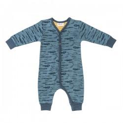 People Wear Organic - Bio Baby Strampler mit Krokodil-Allover
