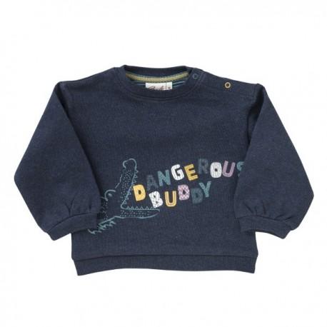 People Wear Organic - Bio Baby Sweatshirt mit Krokodil-Druck