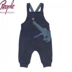 People Wear Organic - Bio Baby Sweatlatzhose mit Krokodil-Applikation