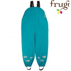 frugi - Kinder Regenhose, türkis