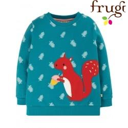frugi - Bio Kinder Sweatshirt mit Eichhörnchen-Applikation
