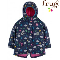 "frugi - Kinder Winterjacke ""Explorer"" mit Igel-Allover"
