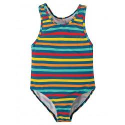 """frugi - Kinder Badeanzug """"Sally"""" mit Streifen, UPF 50+"""