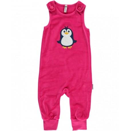 Maxomorra - Bio Baby Strampler mit Pinguin-Motiv