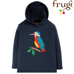 frugi - Bio Kinder Sweatshirt mit Eisvogel-Applikation