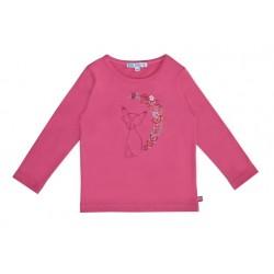 Enfant Terrible - Bio Kinder Langarmshirt mit Fuchs-Stickerei