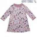 Enfant Terrible - Bio Kinder Sweatkleid mit Blumen-Allover, rosa