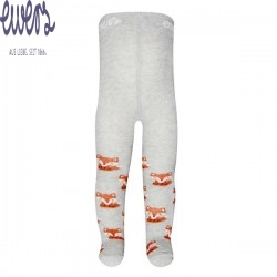 Ewers - Bio Baby Strumpfhose mit Fuchs-Motiv