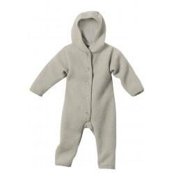 disana - Bio Baby Walk Overall, grau