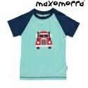 Maxomorra - Bio Kinder T-Shirt mit Auto-Motiv