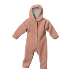 disana - Bio Baby Walk Overall, rose