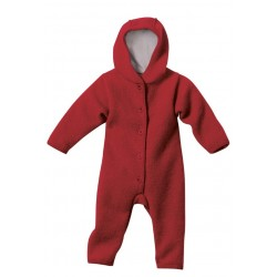 disana - Bio Baby Walk Overall, bordeaux
