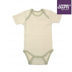 LIVING CRAFTS - Bio Baby Body kurzarm