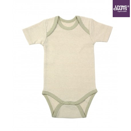 LIVING CRAFTS - Bio Baby Body kurzarm