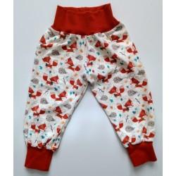 "Naturzwerge Kindermode - Bio Baby Jersey Hose ""Fuchs"""