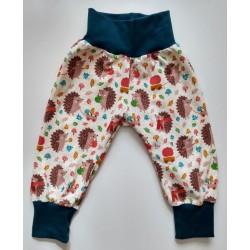 "Naturzwerge Kindermode - Bio Baby Jersey Hose ""Igel"""