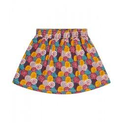 "Sense Organics - Bio Kinder Jersey Rock ""Malia"" mit Blätter-Motiv"