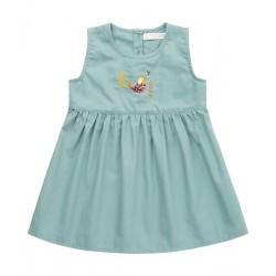 """Sense Organics - Bio Baby Kleid """"Enni"""" mit Vogel-Stickerei"""
