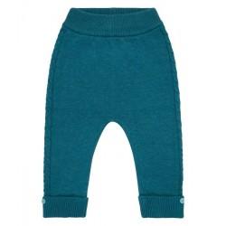 "Sense Organics - Bio Baby Strick Leggings""Pablo"", petrol"