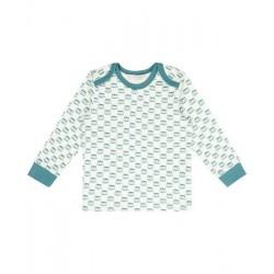 "Sense Organics - Bio Baby Langarmshirt ""Timber"" mit Waschbären-Allover"