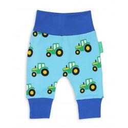 Toby tiger - Bio Baby Sweathose mit Traktor-Allover