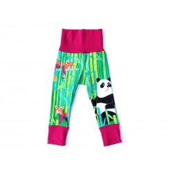 merle kids - Bio Kinder Leggings mit Panda-Motiv