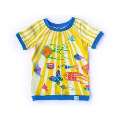 merle kids - Bio Kinder T-Shirt mit Kite-Motiv